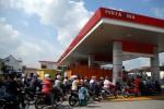 KENAIKAN HARGA BBM : SPBU di Soloraya Mulai Perketat Pembelian BBM Gunakan Jeriken