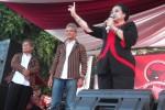 PILGUB JATENG : Kampanye Ganjar-Heru Diwarnai Konvoi, Megawati Sindir Simpatisan