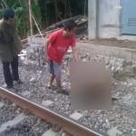 KECELAKAAN SUKOHARJO : Olah TKP Pasutri Tewas Tertabrak KA di Mayang, Polisi Pakai Alat Canggih
