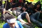 KENAIKAN HARGA BBM : 10 Aktivis PMII Semarang Mogok Makan