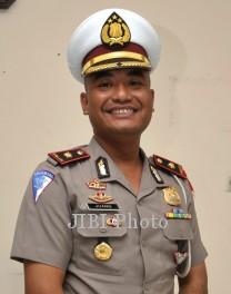 Juang Andi Priyanto saat menjabat Kasatlantas Poltabes Solo. (dok. SOLOPOS)