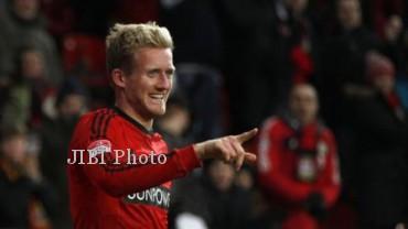 Andre Schurrle, akan resmi bergabung bersama Chelsea musim depan. Chelsea telah sepakat untuk mendapatkan penyerang muda Jerman itu dari Bayern Leverkusen. dokJIBI/SOLOPOS/Reuters
