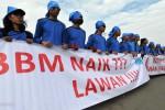 Ilustrasi demonstrasi menentang kenaikan harga BBM. (JIBI/SOLOPOS/Antara)