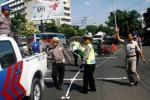 Ilustrasi olah tempat kejadian perkara kecelakaan lalu lintas. (dok. solopos,com)