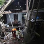 LONGSOR NGLIPAR :  Warga Tak Punya Lahan Untuk Pindah Rumah