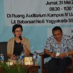 Talkshow UAJY, Generasi Muda Diminta Tak Golput