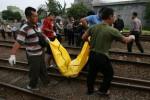 BUNUH DIRI : KA Akan Lewat, Pengamen Tengkurap di Rel Barat Stasiun Jebres