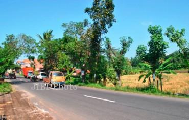 Minimnya JPU di jalan Boyolali-Jatinom dikeluhkan pengguna jalan (Himawan Adhi R/JIBI/Solopos)