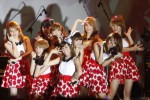 Cherrybelle saat konser di Solo beberapa waktu lalu. (Dok/JIBI/Solopos)