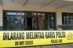 Kantor DPPKAD Boyolali di kompleks perkantoran Pemkab Boyolali di Kemiri, Mojosongo dipasangi garis polisi, Rabu (17/7/2013), setelah disatroni perampok dan mengambil uang Rp29 Juta. (Septhia Ryanthie/JIBI/Solopos)