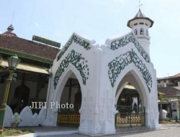 Mesjid Al Wustho, Mangkunegara Solo (Sunaryo Haryo Bayu/JIBI/Solopos)