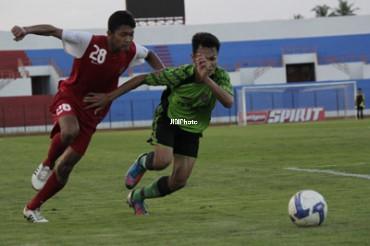 Foto Uji Coba Timnas U19 JIBI/Harian Jogja/Arif Junianto