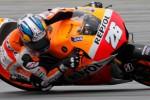 Pembalap Repsol Honda, Dani Pedrosa, bertekad membalas kekalahannya di Assen, Belanda, saat tampil pada MotoGP Jerman di Sirkuit Sachsenring, akhir pekan ini. (DokJIBI/SOLOPOS/Reuters)
