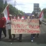 BLSM : Unjuk Rasa BLSM di Gunungkidul Memanas