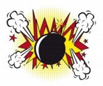 Ilustrasi bom (123rf.com)