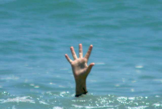 Ilustrasi kecelakaan yang menyebabkan korban tenggelam (Dok/Solopos)