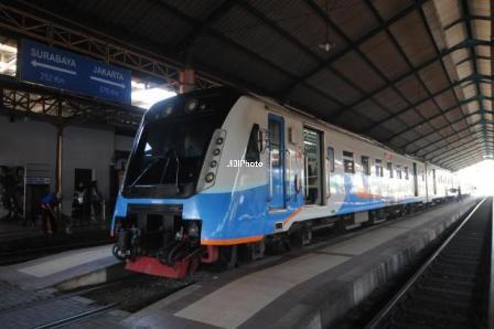 JIBI/Harian Jogja/Solopos Kereta Api Madiun Jaya