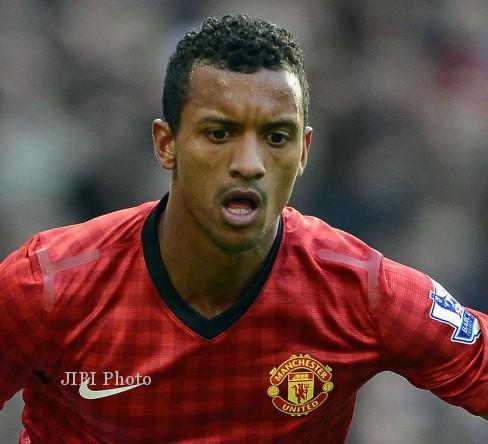 Winger Manchester United, Nani, juga turut diminati AS Roma. dokJIBI ...