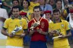 PIALA KONFEDERASI : Torres Top Skorer, Neymar Pemain Terbaik