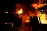 KEBAKARAN KARANGANYAR : Tabung Elpiji Meledak, 4 Orang Luka Bakar