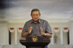 Presiden Susilo Bambangh Yudhoyono