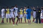 Timnas Indonesia saat menggelar latihan jelang menghadapi Liverpool. DokJIBI/SOLOPOS/Antara