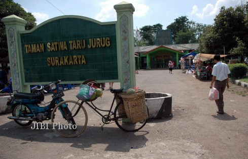 Taman Satwa Taru Jurug (Dok/Solopos)