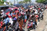 MUDIK LEBARAN 2013 : Jalan Jogja-Wates Padat