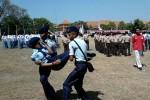 HUT KE-68 RI : Puluhan Pelajar dan PNS Pingsan Saat Upacara