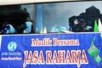 NATAL DAN TAHUN BARU : 35 Bus Layani Mudik Gratis Akhir Tahun