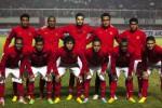Timnas Indonesia U-23 berfoto bersama dalam pertandingan persahabatan melawan Timnas Brunei di Stadion Maguwoharjo, Sleman, Kamis (15/8) malam.