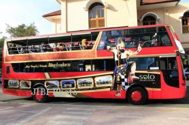 Bus tingkat wisata Werkudara yang diperkenalkan di Solo saat Jokowi menjadi walikota. Kini DKI Jakarta juga akan meluncurkan bus tingkat wisata serupa. (Dok/JIBI/Solopos)