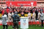 Arsenal saat memenangi turnamen pramusim Emirates Cup, beberapa tahun lalu. (Arsenal.com)