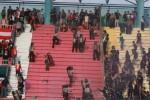 Ilustrasi kerusuhan suporter. DokJIBI/Solopos