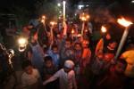 TAKBIRAN SLEMAN : Ribuan Warga Ikuti Pawai Takbir Keliling