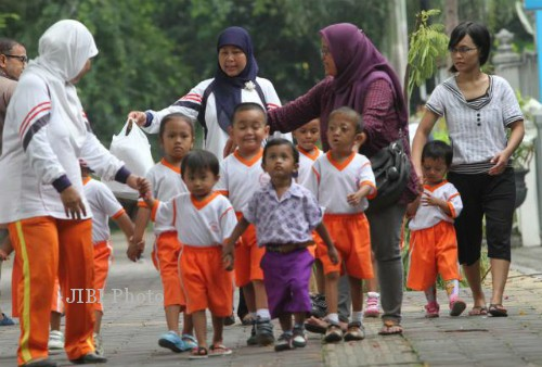 Foto ilustrasi guru taman kanak-kanak (TK). (JIBI/Solopos/Dok.)