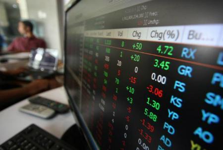 Ilustrasi indeks harga saham gabungan (JIBI/Bisnis)