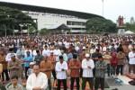 Ilustrasi Salat Id di Stadion Manahan. (JIBI/Solopos/Dok)