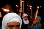 LEBARAN 2013 : Ratusan Santri Meriahkan Takbir Keliling