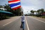 HARGA KARET ANJLOK : Aksi Unjuk Rasa Petani Karet Thailand Meluas