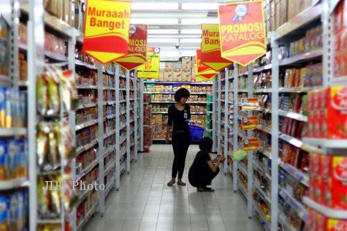 Ilustrasi suasana toko pedagang eceran (ritel) baru. (JIBI/Solopos/Dok.)