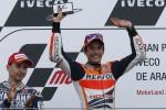 MOTOGP SPANYOL : Lorenzo Juara di Valencia, Marquez Juara Dunia
