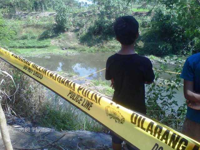 Lokasi penemuan mayat Siska (Himawan Ardhi Ristanto/JIBI/Solopos)