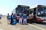 HAJI 2013 : Waduh, Ada Bus Angkutan Haji Mogok, Bus Cadangan pun Tak Sehat