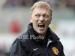 Pelatih Manchester United (MU), David Moyes (JIBI/Solopos/Reuters)