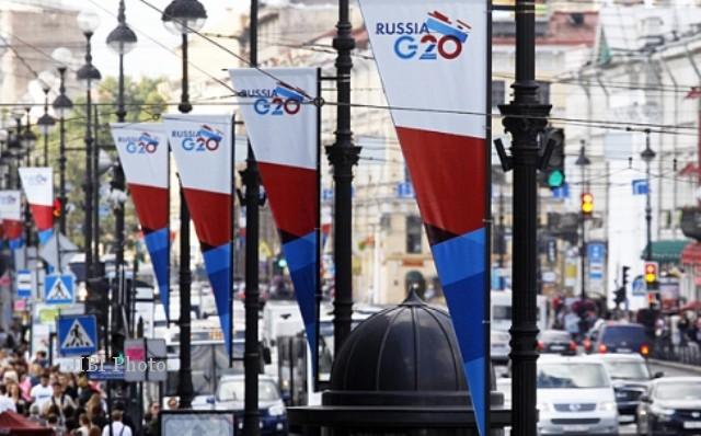 St. Petersburg menjelang pertemuan negara-negara G-20