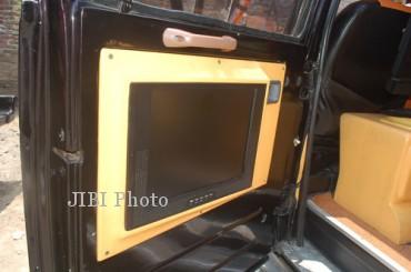 Modifikasi mobil Daihatsu Hijet (Farid Syafrodhi/JIBI/Solopos)