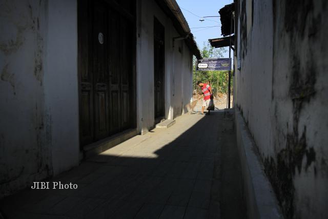 Salah satu sudut Kampung Batik Laweyan (JIBI/Solopos/Dok)
