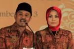 Calon bupati dan calon wakil bupati Karanganyar, Paryono dan Dyah Shintawati (Pasti). (Dok/JIBI/Solopos)