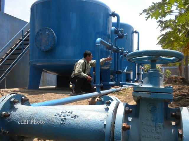 Ilustrasi pengolahan air